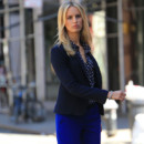 Karolina Kurkova véritable working-girl dans les rues de New-York