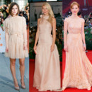 Keira Knightley Gwyneth Paltrow Jessica Chastain en mode nude