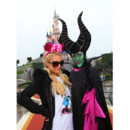 Paris Hilton à Disneyland Paris pour Halloween