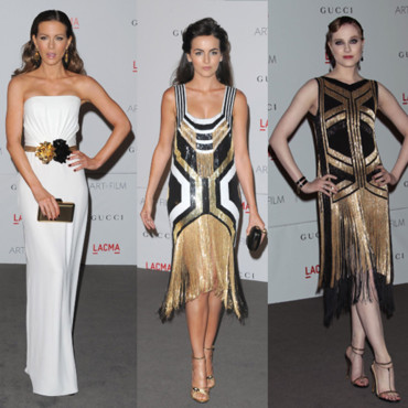 LACMA Art and Film Gala toutes en Gucci