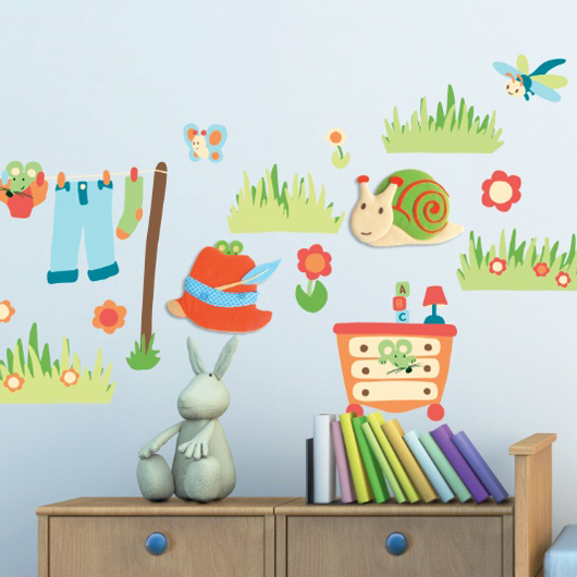 Chambre d 39 enfant on craque pour les stickers baby to for Stickers chambre love