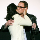 Photo : le baiser de Jean-Claude Van Damme et Gladys
