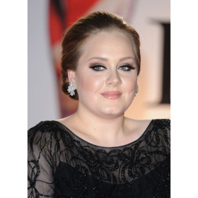 Adele arriving for the 2011 Brit Awards London, Uk on February 15, 2011.