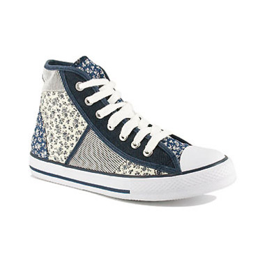 Chaussures montantes jean et liberty Gemo 24,90 €