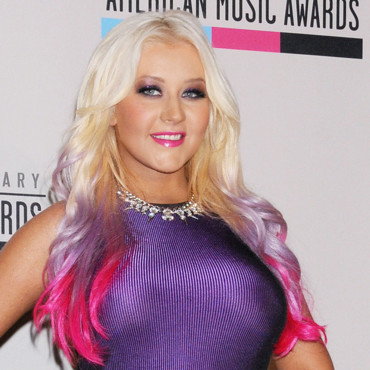 "Christina Aguilera aux ""American Music Awards"" en octobre 2012"