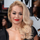 Rita Ora lors des MTV Movie Awards le 14 avril 2014.