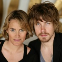 Photo : Julien Doré et Judith Godrèche à Cannes