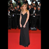 Photo : Amanda Sthers au Festival de Cannes 2008