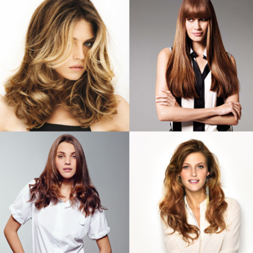 Montage cheveux longs