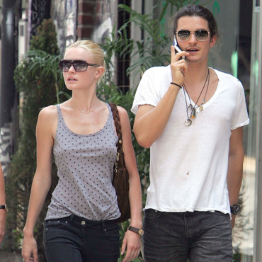 Orlando Bloom et Kate Bosworth en 2006 à New York
