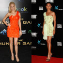 Elizabeth Banks et Jada Pinkett Smith et la robe Versace one shoulder