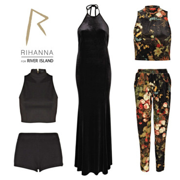 Rihanna porte la nouvelle collection de River Island