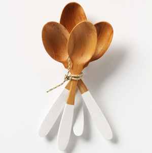 Couverts bicolores par Anthropologie