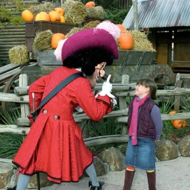 Le Capitaine Crochet chez Disneyland Paris