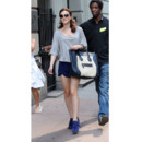 Star et son sac - Leighton Meester