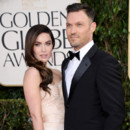 Megan Fox et Brian Austin Green aux Golden Globes 2013