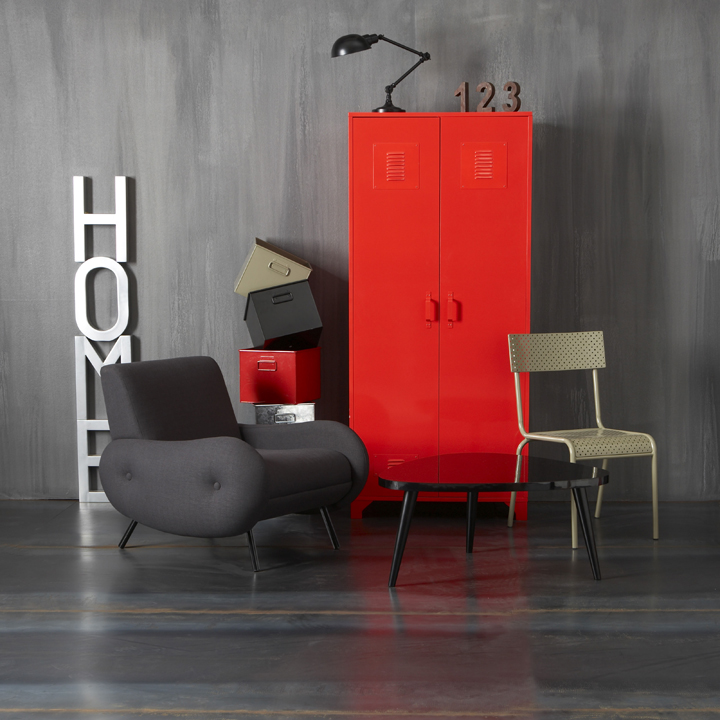 quoi de neuf chez la redoute le mobilier n o industriel d co. Black Bedroom Furniture Sets. Home Design Ideas
