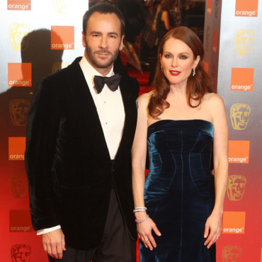 Julianne Moore et Tom Ford aux Baftas