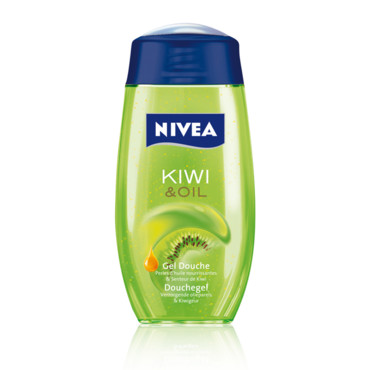 nivea les tendances beaut et soins de la rentr e gel douche kiwi oil nivea beaut. Black Bedroom Furniture Sets. Home Design Ideas