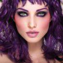 Maquillage violet : look Make up For ever ULTRA-VIOLET