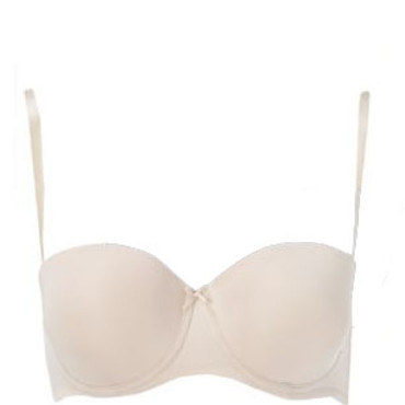 Soutien gorge nude New Look