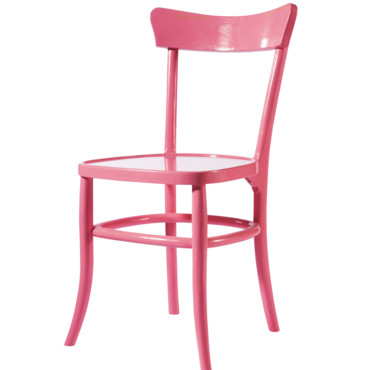 chaise bistrot rose