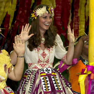 Kate Middleton à Tuvalu