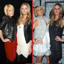 Paris et Nicky Hilton montage