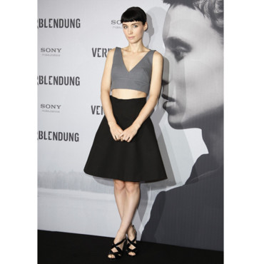 Rooney Mara et son ensemble Miu Miu