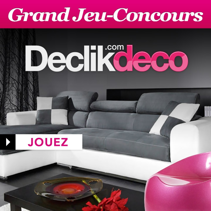 r sultats declikdeco jeux concours d co. Black Bedroom Furniture Sets. Home Design Ideas