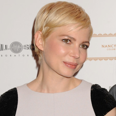 Michelle Williams et ses cheveux courts