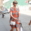 Look du jour : Kate Upton et sa tenue estivale à New York