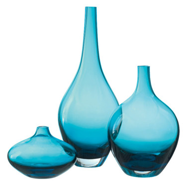 Nouveaut s ikea 2011 succombez la vague bleue vases for 4 miroirs vague ikea