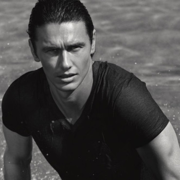James Franco glamour et sexy pour Gucci Parfums