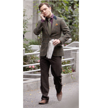 Homme stylé - Ed Westwick