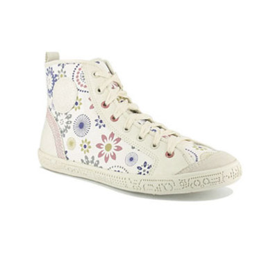 Chaussures montantes en liberty pastel Gemo 29,90 €
