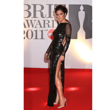 Cheryl Cole en Stella McCartney aux Brit Awards