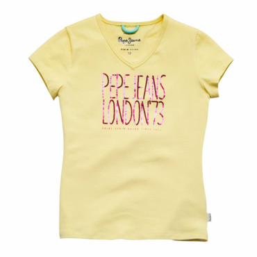 T-shirt manches courtes fille PEPE JEANS