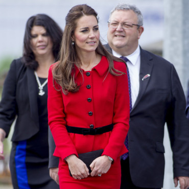 Kate Middleton à Christchurch le 14 avril 2014