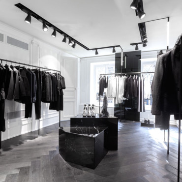 Boutique Karl Lagerfeld ouverture à Paris, les photos