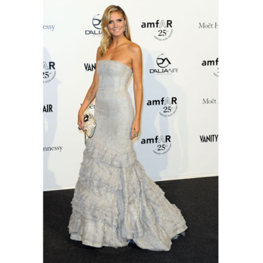 Gala Amfar Fashion Week Milan Heidi Klum