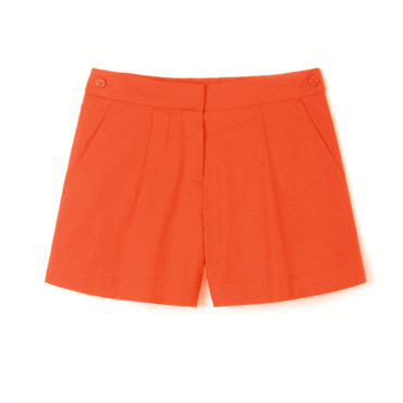 Mini short orange