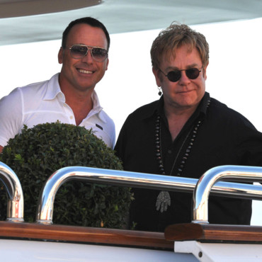 Elton John et David Furnish
