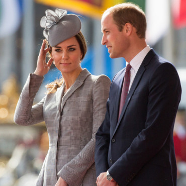 Kate Middleton et le prince William accueillent le président de Singapour le 21 octobre 2014 à Londres
