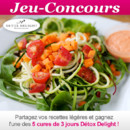 Gagnants du concours cuisine sur les recettes lgres