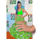 Vernis à ongles de stars Katy Perry en vert fluo pour les Kids Choice Awards mars 2012