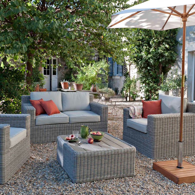 castorama 30 nouveaut s pour la terrasse et le jardin salon praslin castorama d co. Black Bedroom Furniture Sets. Home Design Ideas