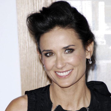 Demi Moore et son chignon