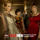 Mad Men - Saison 4. Série créée par Matthew Weiner en 2007. Avec : Jon Hamm, Elisabeth Moss, Vincent Kartheiser et January Jones