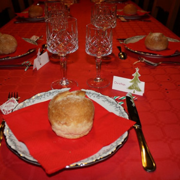Table réveillon de Noël